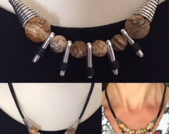 "Necklace ""Jasper"""