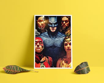 Justice League Poster Movie