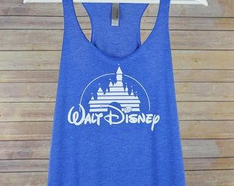 Women's Disney Racerback Tank: 9 Colors Available- Walt Disney Shirt for Women