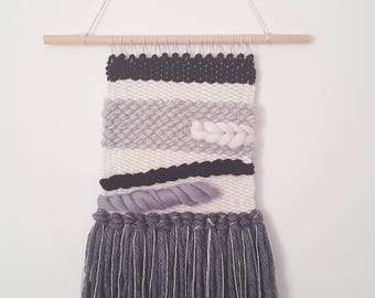 Woven wall hanging | Tapestry | Fibre Art | Textile Weaving