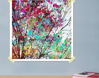 """JUNIQE ® image-Trees-design """"Autumn 8""""-Murals & Framed Posters-abstract and modern art-designed by the artist"""