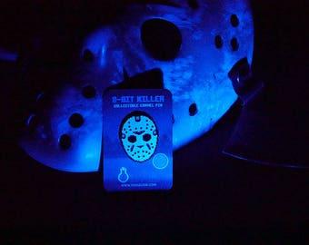 8-Bit Killer Friday the 13th Horror/Slasher Retro Game Enamel Pin