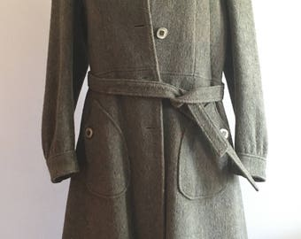 Coat Loden vintage Years ' 70
