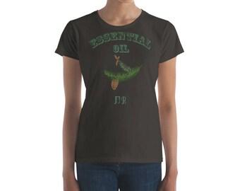 Essential Oil Fir Women's short sleeve t-shirt