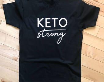 Men's Keto Strong Tee