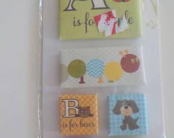 ABC Stickers Embellishments