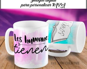 Sublimer Human cup template have JPG sublimation books to customize mug