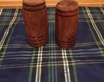 Mesquite Salt & Pepper Shaker Set