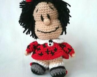 """Crochet doll """"Mafalda"""""""