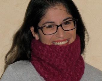 Snood Starry Collar Scarf Alpaca Silk Gift Woman