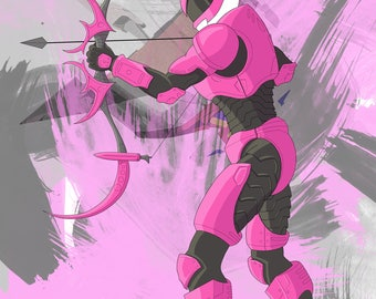 The Pink Ranger