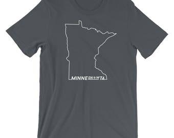 MinneSNOWta Cold Snowy Winters Tee - Minnesota Fans Life Short-Sleeve Men's Unisex T-Shirt