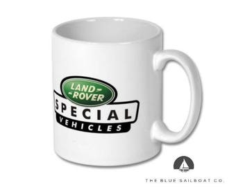 Land Rover Special Vehicles Mug, Defender, Truck, Defender Gift, Cars, Defender, Land Rover 90, Land Rover 110, Land Rover 130