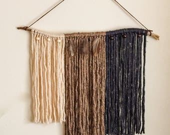 Seaside, OR: Yarn Wall Hanging