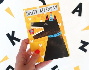 Happy birthday. Postcard