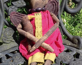 Primitive Art Doll