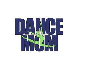 Dance Decal, Vinyl Decal, Laptop, Tablet, Yeti, Tumbler, Car Decal, Window Decal