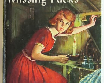 "Nancy Drew ""Secret of the Missing F*cks"" mashup print"
