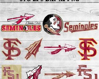 university of Florida svg,team,logo,svg,png,eps,dxf,files for cricut,collegiate,ncaa,banner,shirt,Seminoles,decal,vinyl,football svg