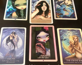 Mermaid Self-Love Oracle Reading - Oracle of the Mermaids and Oracle of the Water - Five Dollar Divination