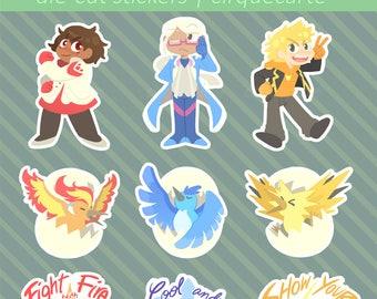 Pokemon Go: Die-Cut Stickers