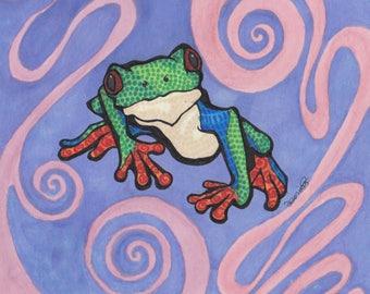 Frog Spirit Totem