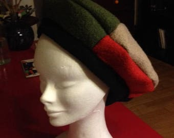 Handmade 4 beret colors