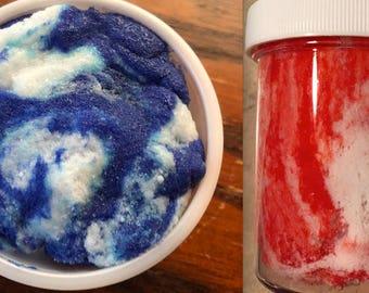 CUSTOM PICK COLOR - Swirl cloud slime