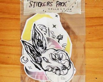 sticker pack - 6 pieces