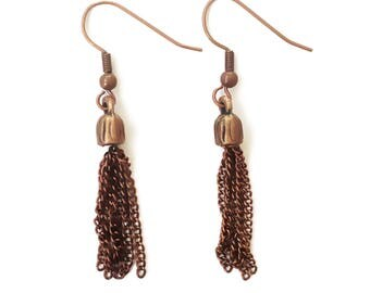 All Tassel, No Hassle earrings