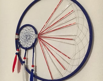 American Pride Dream Catcher