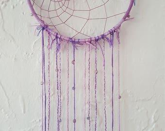 Purple Dream Catcher