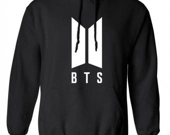 BTS Hoodie/ Bangtan Boys Kpop Hoodie / BTS Logo Sweater / Multiple Color Options