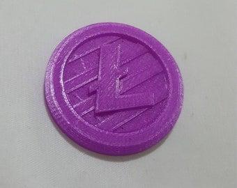 3D Printed Litecoin
