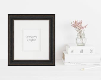 Custom Framed Nature Photography Print