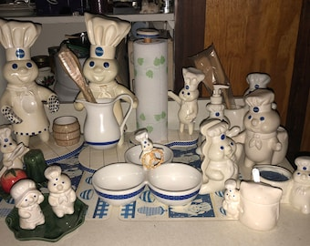 Pillsbury Doughboy GIANT Collection Lot