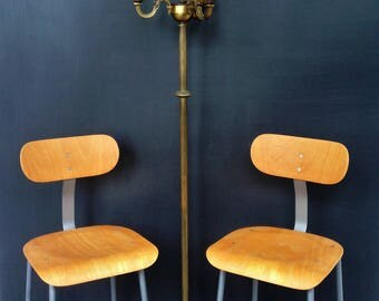 Cool Industrial chairs-completely revamped