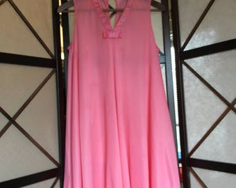 Pink Babydoll Nightgown - 60's