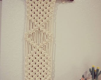 Stand Tall // Macrame Wall Hanging