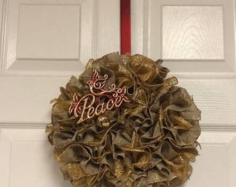 "12"" x 12"" Peace Wreath"