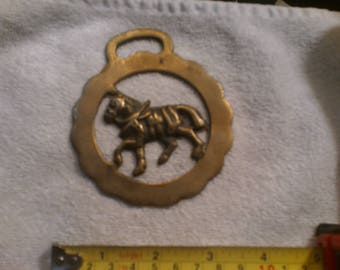 Horse, Brass, Collectible, Wall Art, Antique