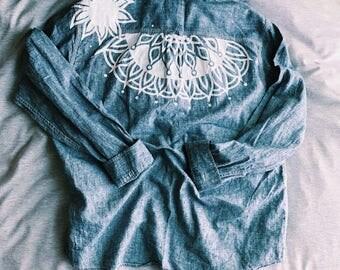 Handpainted Denim Jacket