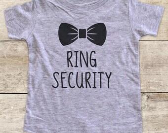 Ring Security Wedding Shirt - Baby bodysuit or Toddler Shirt or Youth Shirt
