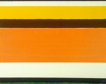 Color Field #1, modern art oil painting