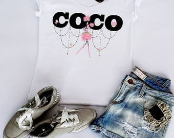 T-shirt fashion style woman