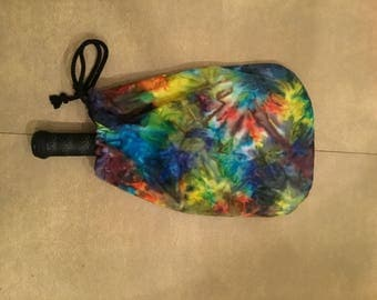 Tie dye Pickleball Paddle Cover