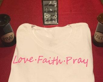 1. Love Faith Pray