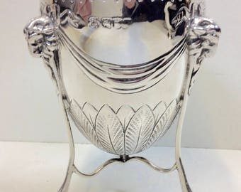 Victorian Solid Silver Goblet 6.9oz. D & J Wellby London 1896-1908