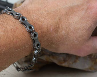 Bicycle Chain Lay Flat, Full Link, Bracelet