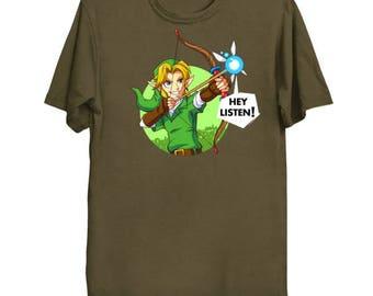 Fairy Bow - Zelda T-Shirt Zelda Shirt The Legend of Zelda Ocarina of Time Shirt Link Tee